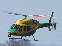 G-WLTS Bell 429 Helicopter Wiltshire Air Ambulance (Aircaft @ Gloucestershire Airport By James) Tags: gloucestershire airport gwlts bell 429 helicopter wiltshire air ambulance egbj james lloyds