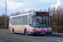 41416 LN51DWZ First Glasgow (busmanscotland) Tags: dennis dart capital centrewest dml416 marshall slf ln51 dwz 41416 ln51dwz first glasgow london