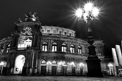 Semperoper in Dresden (my-pixx) Tags: dresden semperoper sony nacht stadt architektur rx100ii