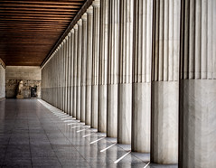 The Ancient Agora Athens (derek.dpr) Tags: athens agora column columns architecture architectural olympus omd em1 on1pics on1 perspective classical