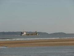 sand boat (KelvinUni) Tags: burryport sand beach