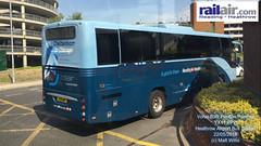 READING HEATHROW RAILAIR VOLVO B9R PLAXTON PANTHER YX11 HPP HEATHROW CENTRAL BUS STATION 22052018 (MATT WILLIS VIDEO PRODUCTIONS) Tags: reading heathrow railair volvo b9r plaxton panther yx11 hpp central bus station 22052018