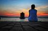 in attesa di te (swaily ◘ Claudio Parente) Tags: lago laguna orbetello mulino maremma toscana nikon d500 nikond500 swaily claudioparente acqua tramonto