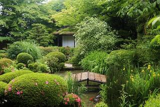 tea ceremony house  / Kyoto Shisendo 京都 詩仙堂