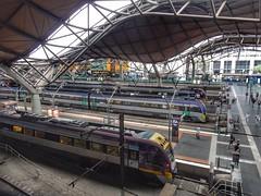 Southern Cross railway station (sander_sloots) Tags: southern cross railway station treinstation trains treinen melbourne spencer street vline vlocity bombardier victoria australia