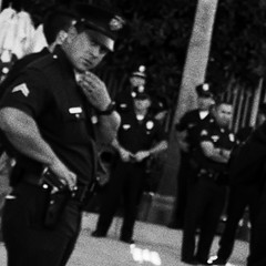 Sobriety Test (Steve Mitchell Gallery) Tags: police cops lawenforcement observe watch suspicion sobriety intoxicated intoxication buzzed street