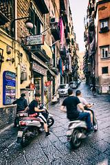 Salumeria (isnogud_CT) Tags: quartierispagnoli spanischesviertel mofa vespa vicoli gasse neapel italien