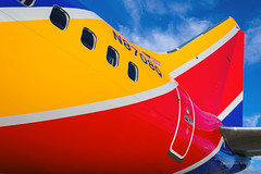 Colors of LUV (RaulCano82) Tags: luv swa swapic tx texas raulcano canon aviation airplane avgeek airliner boeing737 boeing jet 737max houston htown htx hou houstontexas houstontx houstonhobby khou n8708q colorful sky clouds plane southwestair southwestairlines