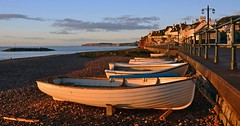 Early morning at Sidmouth