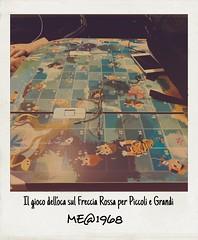Il gioco dell'Oca (iw2ijz) Tags: treno train frecciarossa milanospiez italia svizzera gioco game giocodelloca ludico tavolo percorso caselle passatempo iphonex apple