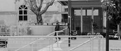 Cowboy in the city (ShackHealter) Tags: bianco e nero black white blackwhite blackandwhite noiretblanc cowboy city citta pescara merci piazza square italy italia abruzzo nikon nikkor d300 18105 people