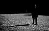 Walk at the cobblestones (MortenTellefsen) Tags: cobblestone cobblestones walk walking shadows blackandwhite blackandwhiteonly bw artinbw art skygge hat norway norwegian bergen light monochrome svarthvitt bnw brostein street streetview streetphoto streetlife gatefoto gate