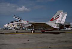 F-14A Tomcat 159611 of VF-24 NG-207 (JimLeslie33) Tags: 159611 f14 f14a grumman tomcat vf vf24 fighting renegades nas miramar cvw9 uss constellation cv64 fightertown navy naval aviation usn ng ng207 fighter olympus om1