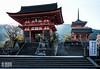 Kiyomizu-dera Temple (Ken Browne) Tags: japan kiyomizudera temple japanese kyoto red