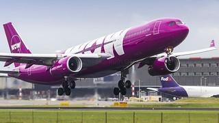 AMS / EC-MIO / Airbus A330-343 WOW Air