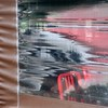 looking in (Jim_ATL) Tags: restaurant window red chair awning reflection distortion plastic curtain atlanta