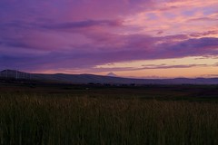 Mt. Hood (phone.o.graph) Tags: landscape mountain mountains sunset color twilight sky cascades cascade range