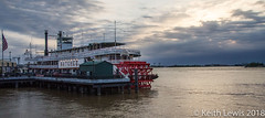 Riverboat Shuffle (keithhull) Tags: neworleans mississippi river riverboat steam dawn louisiana 2014 f
