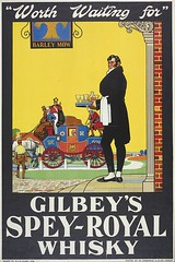 Gilbey's SPEY-ROYAL Whisky (OldAdMan) Tags: oldadman oldadvertisements oldposters oldadverts gilbeys speyroyal whisky old vintage advertisements adverts posters