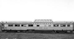 CB&Q 4736 SILVER BRAND (Chuck Zeiler) Tags: cbq 4736 silverbrand burlington railroad dome coach passenger car budd philadelphia train chz