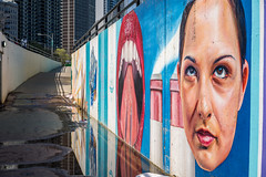 Rolleyes (yarnim) Tags: 55mm sel55f18z a7m2 a7iii sony street face art streetart chicago