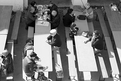070 (annarovigatti) Tags: people pasquetta blackandwhite brisighella food sagra italy
