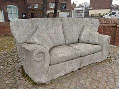 Andrew Tanser's Stone Sofa, Middlegate, Great Yarmouth (Moldovia) Tags: andrewtanser stonesofa middlegate greatyarmouth norfolk publicart art