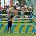 Fixing the jump - Horse Jumping - Devon County Show - May 2017 thumbnail