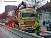 Scania R520 v8 AT69309 twin tipper delivers tar to fill holes in road (sms88aec) Tags: scania r520 v8 at69309 twin tipper delivers tar fill holes road brdr neilsen
