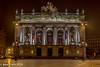 Theatre du Nord, Lille (PapaPiper (Travelling with my camera)) Tags: lille france europe nightscape night nighttime theatre facade lights theatredunord