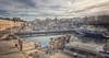 (204/18) Puerto (Pablo Arias) Tags: pabloarias photoshop photomatix capturenxd españa cielo nubes arquitectura agua mar mediterráneo bote barco yate ciudad edificio personas gente puerto ciudadela menorca
