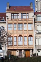 Van Eetveldehuis, Brussel (Erf-goed.be) Tags: vaneetveldehuis hotelvaneetvelde herenhuis victorhorta palmerstonlaan brussel archeonet geotagged geo:lon=43805 geo:lat=508472