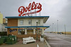 Dolles Salt Water Taffy, Rehoboth Beach, DE (Robby Virus) Tags: rehobothbeach delaware de dolles candyland candy land salt water taffy sugar good sign signage scaffold