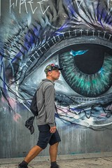 Even the streets surrounding the official Wynwood Walls had art.