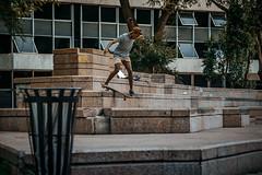 Danilo - F/S Rockslide (jodaimarcio_) Tags: nikon nikondslr nikontop nikonbrasil skateboard skate skateboarding skatenerverdie skatecity skatesp skatebrasil skateforlife skateforfun skateforever skt sk8