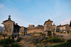 espigueiros de Lindoso (Peneda-Gerês National Park, Portugal) (Gail at Large | Image Legacy) Tags: 2017 castelodelindoso lindoso lindosocastle portugal castelo castle espigueiro espigueiros gailatlargecom granaries granary