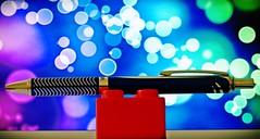 Pentel EnerGel Alloy RT (usk15) Tags: pentel energel alloy rt jersey channelisland channel island sthelier home indoor photography blue black blueblack refill ink ballpoint gel pen pens bokeh effect