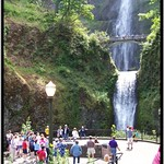 Multnomah Falls ~ Oregon ~ Northwest USA thumbnail