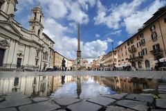 Piazza Navona (albireo 2006) Tags: rome roma italy italia piazzanavona reflection