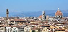 Florence, Italy (cpcmollet) Tags: italy italia firenze florencia florence panorama view sky toscana tuscany nikon architecture arquitectura city urban light colour art holidays vacaciones