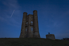Broadway Tower & ISS (Jan Knurek) Tags: iss broadwaytower cotswolds cotswoldhills broadway worcestershire space astro astrophotography