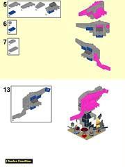 Crazy Ivan page 08 (origamiguy1971) Tags: firefly mal malcom reynolds zoe hoban wash book jayne simon river inara kaylee crazy ivan lego microscale spaceship moc model
