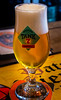 Glass of Tank 7 Farm House Ale (A Saison - Belgium Type beer brewed in the US) (t'Brugsch Bieratelier Pub) (High ISO) (Panasonic Lumix TZ200 Travel Compact) (1 of 1) (markdbaynham) Tags: bruges brugge bruggen city citybreak belgium westflanders flemish urban metropolis pub beer belgiumbeer tbrugschbieratelier panasonic tz200 dmctz200 zs200 1 1inch compact panasoniccompact travelzoom lumix lumixer