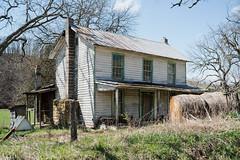 Cooks Run House_04-4-18 (Bob G. Bell) Tags: abandoned cooksrun oldhouse home roundbales hay bobbell xm1 fujifilm monroe lindside wv westvirginia
