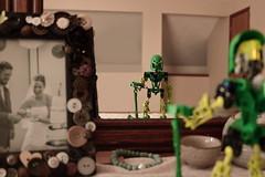 Reflection (Toa Slim 2014) Tags: lewa toa lego mata bionicle mirror reflection toy toyphotography