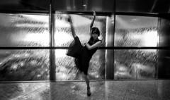 Kick up your heels... (Frank Busch) Tags: frankbuschphotography bw beauty blackandwhite bnw japan monochrome people portraits tokyo woman wwwfrankbuschname yuka