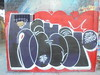 564 (en-ri) Tags: reser tots crew zero samir nero rosso bianco blu arrow parco dora torino wall muro graffiti writing throwup