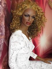 Display Mannequin (capricornus61) Tags: display mannequin shop window doll dummy dummies figur puppe schaufensterpuppe art face body hair woman frau plastic female feminine portrait home indoor collecting sammeln