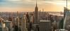Panorama from the Top of the Rock New York City (nan palmero) Tags: topoftherock 30rock rockefellerplaza panorama panoramic pano sony sonya7riii sonyalpha sunset city cityscape skyline cityskyline skyscrapers buildings empirestatebuilding clouds goldenhour nyc newyork newyorkcity unitedstates us usa