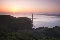 a new day (Andy Kennelly) Tags: sunrise morning golden gate bridge san francisco